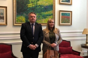 New ambassador of Argentina begins diplomatic mission in Ukraine