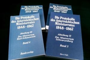Австрія передала Україні 50 томів засідань Ради міністрів ХІХ століття