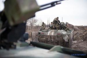 Оккупанты применили 120-мм минометы, под Пивденным работал снайпер