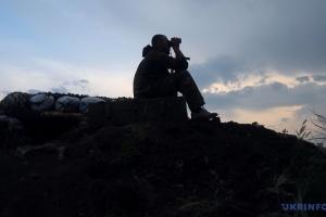 Оккупанты дважды нарушили «тишину», под Катериновка работал снайпер