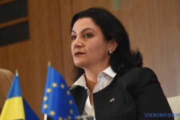 Gipfeltreffen Ukraine-EU: Vizepremierministerin für europäische Integration darf nicht teilnehmen