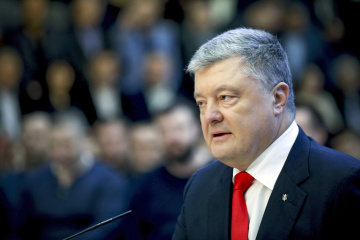 Poroshenko: Contrarrestar la agresión de Rusia con la defensa firme y la diplomacia activa