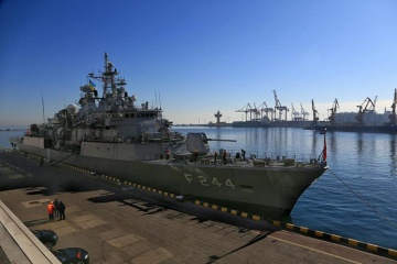 Turkish warships enter Odesa port