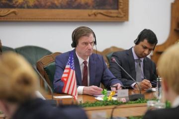 Estados Unidos promete continuar apoyando a Ucrania para disuadir la agresión rusa