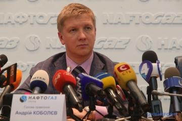 Naftogas-Chef  erhofft 2 Milliarden für Gastransit aus Russland