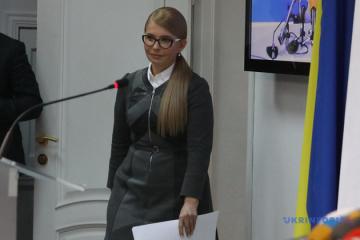 ティモシェンコ候補、ゼレンシキー候補につき「国民が政治的自殺をするかしないかのテストだ」
