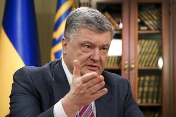 Poroschenko: Kein Schachern und keine geheimen Vereinbarungen über die Krim