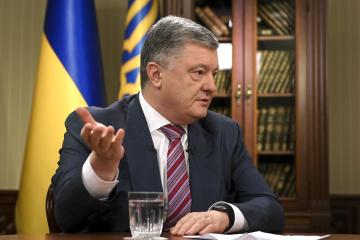 Poroshenko: Garantizo tolerancia cero hacia la corrupción