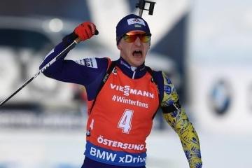 Dmytro Pidrutchnya remporté l'or au Championnat du monde de biathlon en poursuite