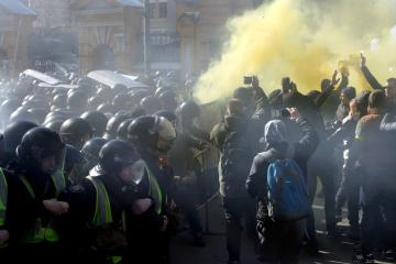 Starcia z Narodowym Korpusem: policja znalazła głównych podejrzanych