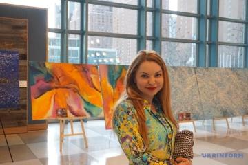 L'exposition d'une artiste ukrainienne s'ouvre au siège de l'ONU