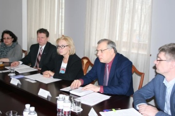 Denisova meets with head of OSCE Election Observation Mission to Ukraine