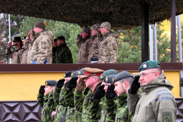 Des instructeurs de sept pays de l'OTAN formeront l'armée ukrainienne