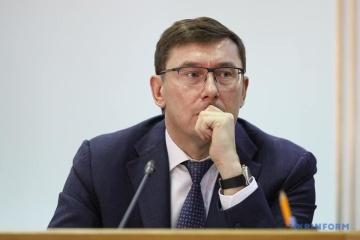 """Łucenko nazwał trzy """"dziury korupcyjne"""", przez które Ukraina traci pieniądze"""
