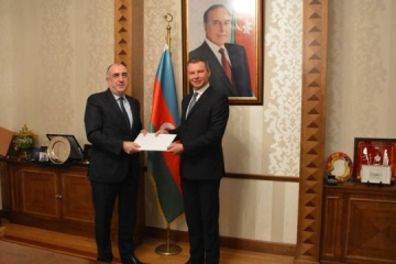 New Ukrainian ambassador begins diplomatic mission in Azerbaijan