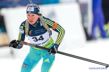 Biathlon-EM 2021: Anastasia Merkyschyna holt Silber im Einzel