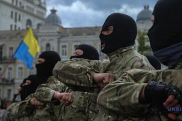 Ucrania celebra el Día del Combatiente Voluntario