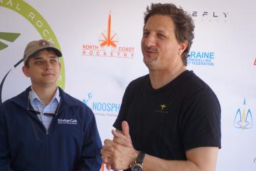 Tom Markusic, CEO of Firefly Aerospace