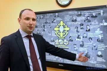 President sacks chief of Ukraine's Foreign Intelligence Service