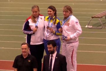 La ucraniana Ursulenko gana el oro en el Campeonato Mundial de Atletismo en Tallin