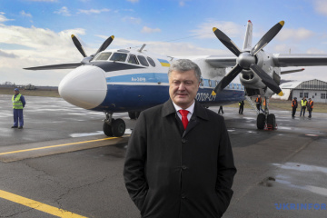 Präsident Poroschenko verdiente 2018 rund 1,5 Milliarden Hrywnja