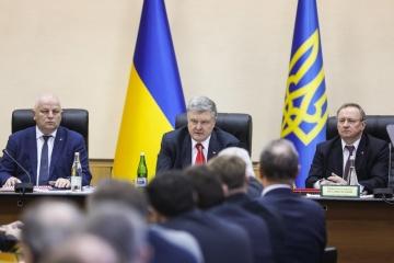 Ukraina musi zbudować własny zakład produkcji paliwa jądrowego - Poroszenko