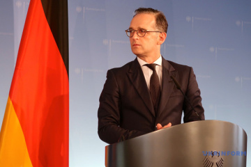 German Foreign Minister Maas to visit Ukraine tomorrow