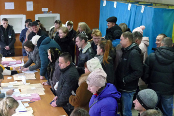 Over 60% of Ukrainians consider voting in elections their civic duty — poll