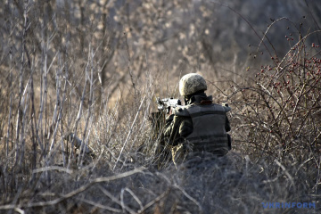 Russian-led forces violate ceasefire nine times in Donbas