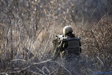 Russian-led forces launch eleven attacks on Ukrainian troops in Donbas