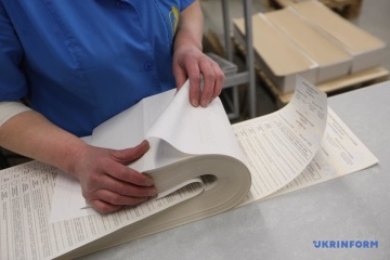 Papeletas para las elecciones presidenciales tienen diez grados de protección