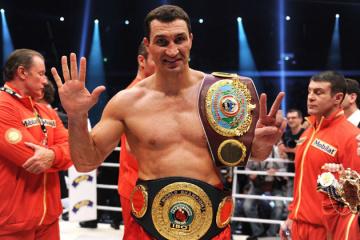 Vladímir Klichkó nominado a mejor boxeador de la década