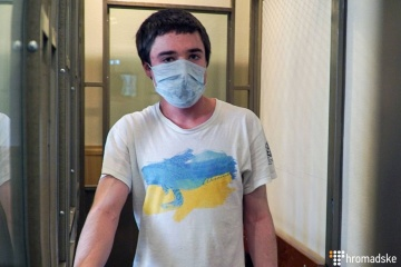 El preso político ucraniano Gryb se declara en huelga de hambre