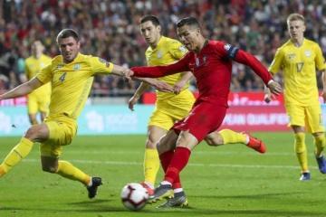 Euro 2020: Ucrania logra mantener el empate en el partido ante Portugal