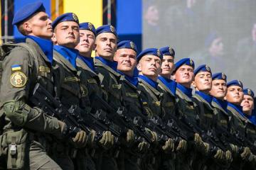 Poroschenko beglückwünscht Armeeangehörige zum Tag der Nationalgarde