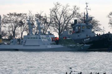 Estados Unidos pide a Rusia que libere inmediatamente a los marineros y barcos ucranianos