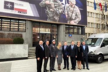 La délégation de la Verkhovna Rada est arrivée en Pologne