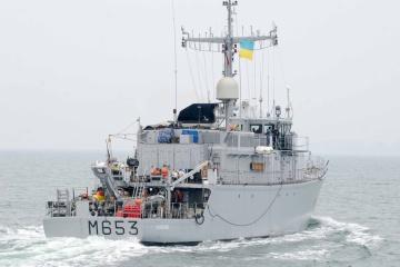 Des entraînements conjoints des Forces navales ukrainiennes et françaises ont eu lieu en mer Noire