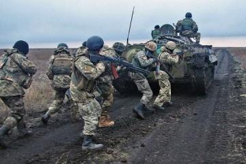 Ocupantes abren fuego en seis ocasiones contra las posiciones ucranianas