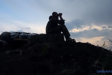 Ukrainian troops in Donbas come under artillery and mortar fire, two soldiers killed