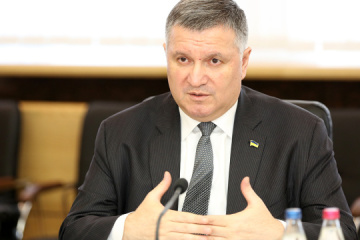 Interior Minister Avakov meets with observers from UWC, NDI. Photos