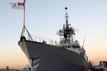 Dwie fregaty wojskowe NATO przypłyną do Odessy
