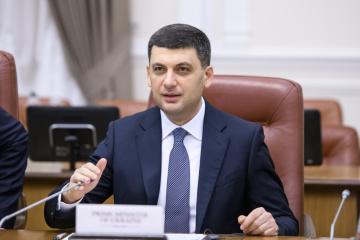 Groysman meets with international observers, outlines government's position. Photos
