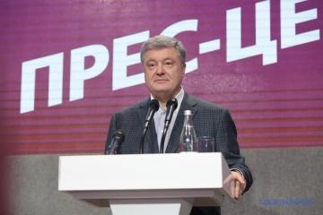 Poroschenko will Wahldebatte mit Selenskyj