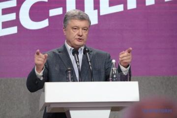 Poroshenko: Ucrania supera con éxito la prueba de la europeidad