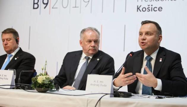 Дуда: двері до НАТО для України, Грузії і Молдови мають залишатися відчиненими