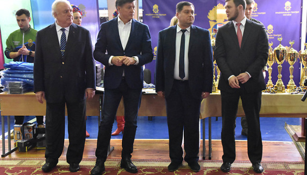 В Киеве прошел чемпионат Национальной гвардии Украины по самбо