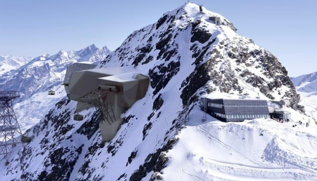 В Альпах з'явиться найвища канатна дорога