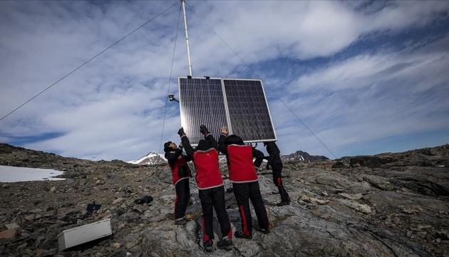 Туреччина встановила в Антарктиці метеорологічну станцію