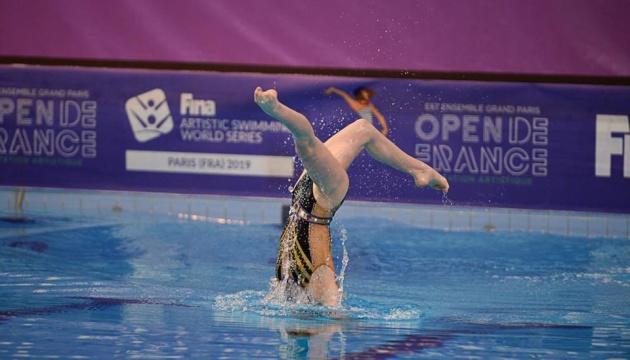 Синхронне плавання: Україна виборола два «золота» на етапі Світової серії у Франції